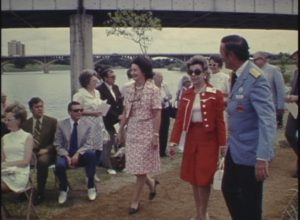 Town Lake Beautification Project Ceremony (1971)