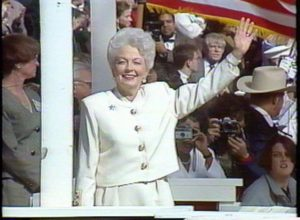 The 1991 Texas Inauguration of Governor Ann Richards