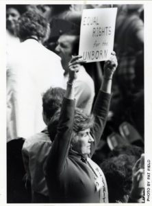 Delegate with Equal Rights for the Unborn Poster (1977)