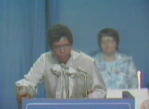 Barbara Jordan at the National Women's Conference (1977)