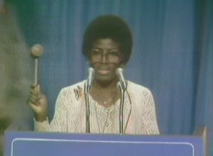 Dr. Gloria Scott at the National Women's Conference (1977)